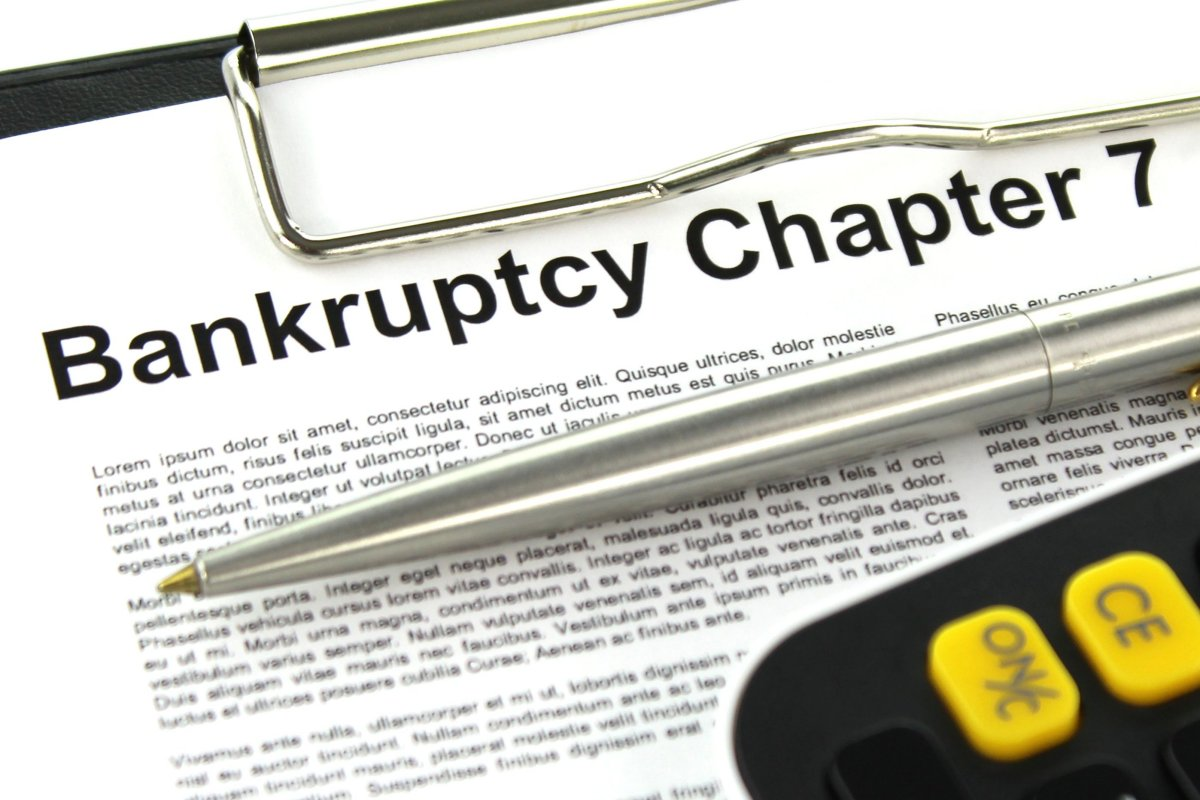 Chapter 7 Bankruptcy - Finance image