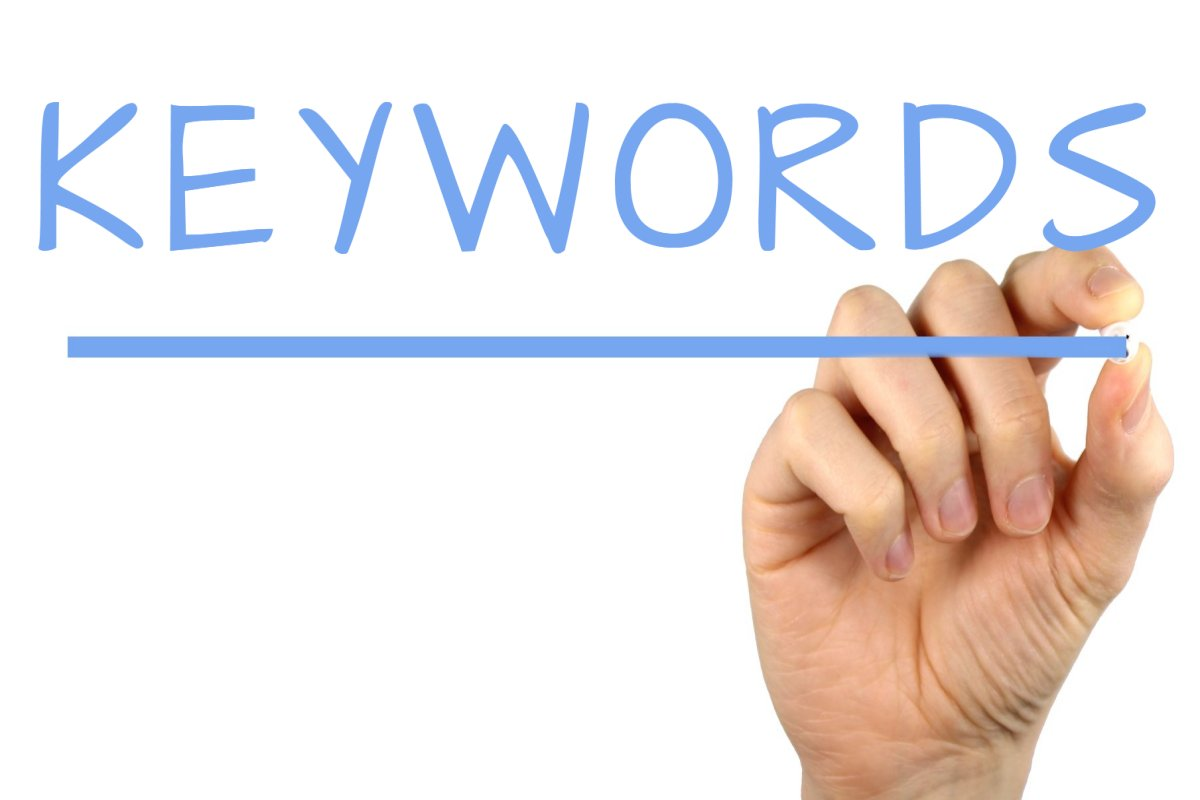 Keywords - Handwriting image
