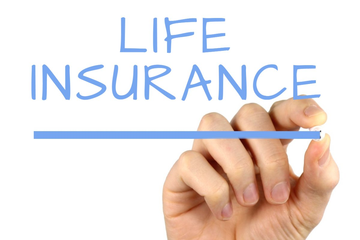 life insurance   handwriting image