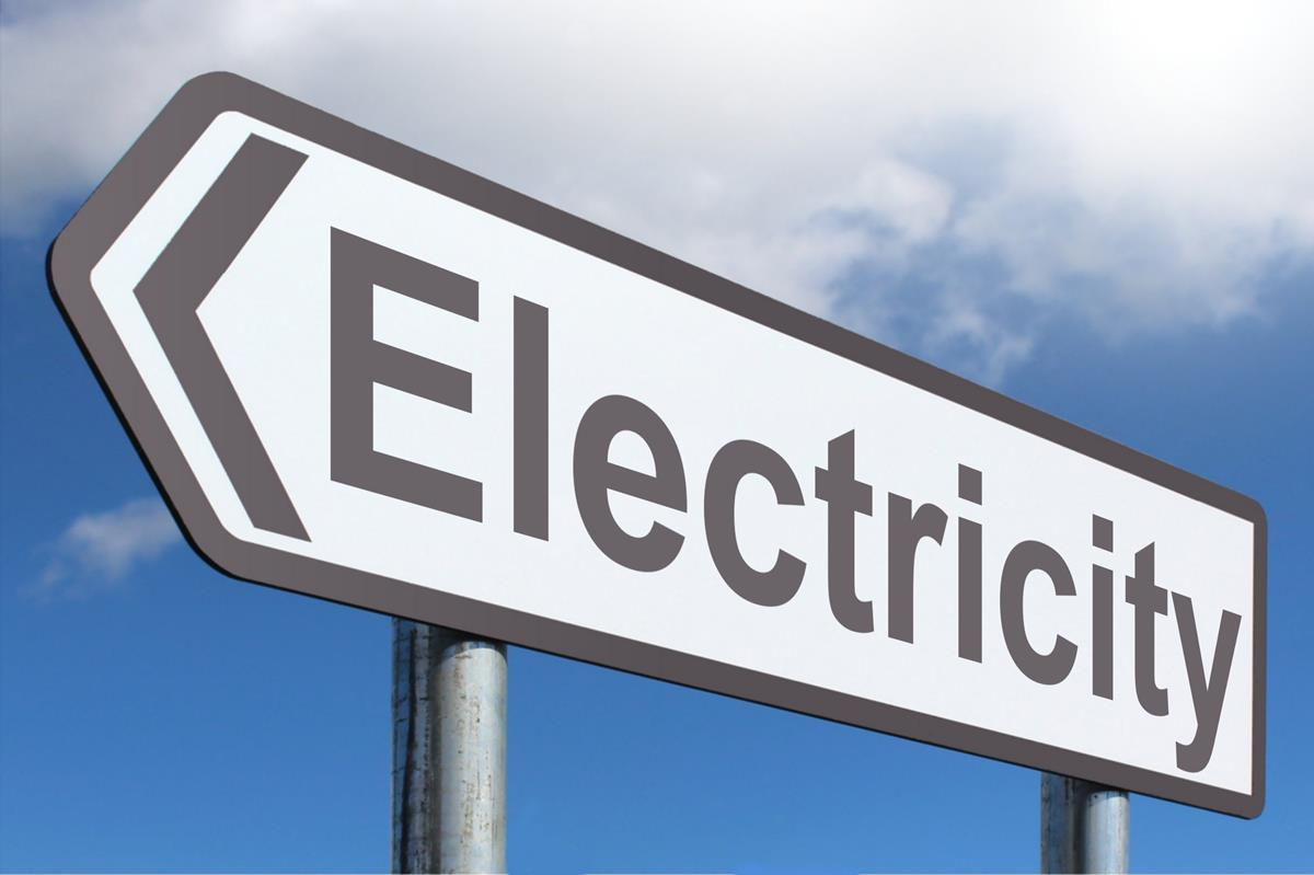 Electricity - Highway Sign image