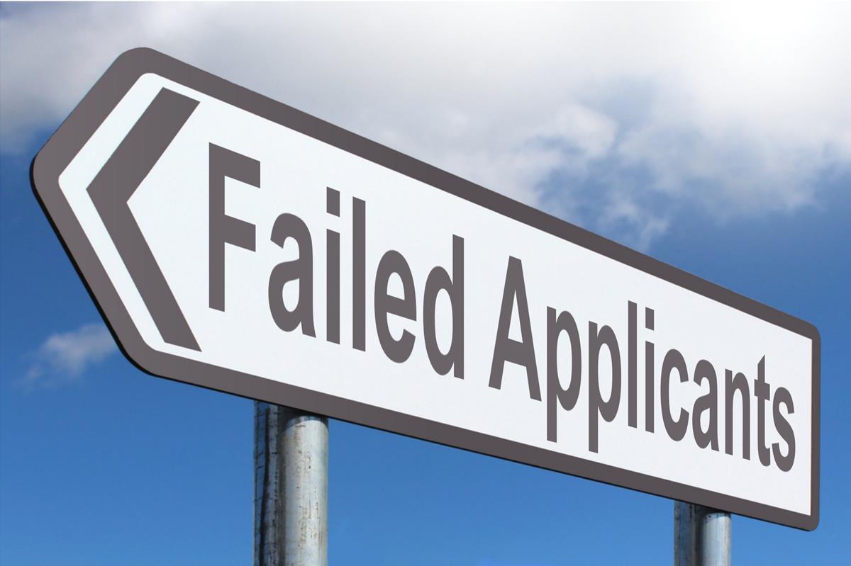 Failed Applicants